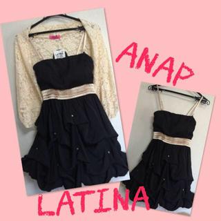 アナップラティーナ(ANAP Latina)のANAPドレス!ボレロ付(その他ドレス)