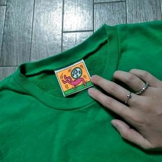 スライ(SLY)のSLY×KeithHaringスライキースへリングコラボタンクトップ(Tシャツ(半袖/袖なし))