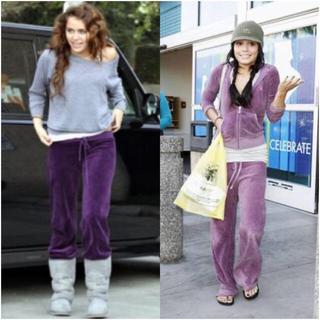 ジューシークチュール(Juicy Couture)のJuicy Couture sweatpants マイリーサイラスも愛用💜(トレーナー/スウェット)