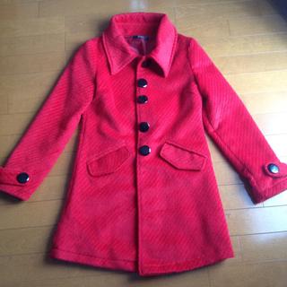 ラブジャンキー(LOVE JUNKIE)の真っ赤なコート♡(ロングコート)