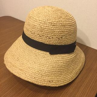 ムジルシリョウヒン(MUJI (無印良品))の無印良品 麦わら帽子 57.5(麦わら帽子/ストローハット)