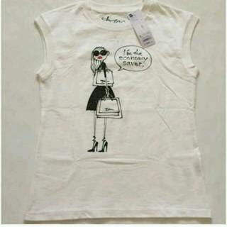ジーユー(GU)のgu ノースリーブTシャツ(シャツ/ブラウス(半袖/袖なし))