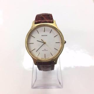 リコー(RICOH)の【RICOH】 0125 メンズ クォーツ(腕時計(アナログ))