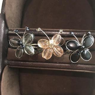 蝶々 リング フリーサイズ(リング(指輪))