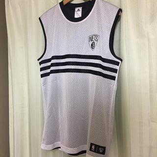 アディダス(adidas)のadidas×NBA BLOOKLYN NETS (ブルックリンネッツ)(Tシャツ/カットソー(半袖/袖なし))