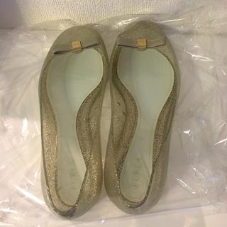 フルラ(Furla)のフルラ☆ラメ ラバーフラットシューズ(レインブーツ/長靴)