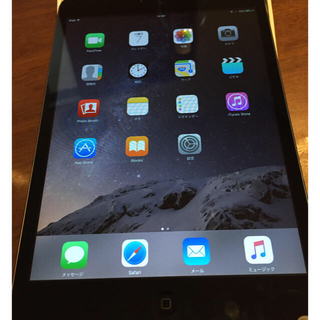 アップル(Apple)の美品 ipad mini wi-fiモデル 16GB スペースグレイ 値引き不可(タブレット)