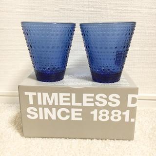 イッタラ(iittala)のiittala カステヘルミ タンブラー 2個 フィンランド独立100周年記念 (グラス/カップ)