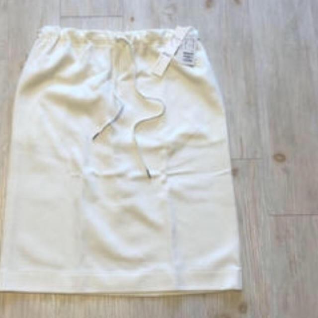 GALLARDA GALANTE(ガリャルダガランテ)のホワイトスカート☆Lサイズ レディースのスカート(ひざ丈スカート)の商品写真