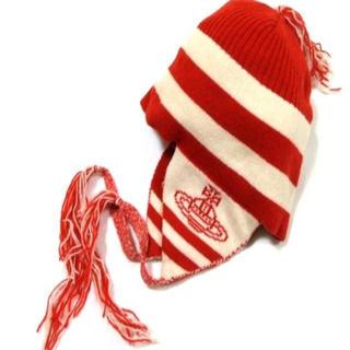ヴィヴィアンウエストウッド(Vivienne Westwood)の激レア♡廃盤vivienneニット帽(ニット帽/ビーニー)