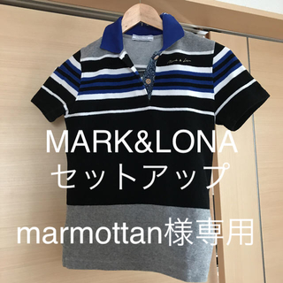 マークアンドロナ(MARK&LONA)のMARK&LONAゴルフウェアセットアップ(ウエア)