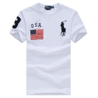 ポロラルフローレン(POLO RALPH LAUREN)の送料無料高質大人気ポロ ラルフローレンTシャツ男性用3色各色サイズ選択可(Tシャツ/カットソー(半袖/袖なし))