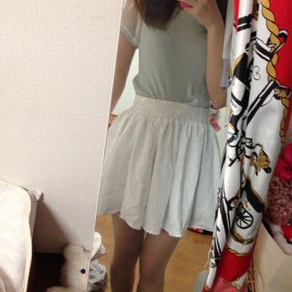 ウィゴー(WEGO)の白スカート(ミニスカート)