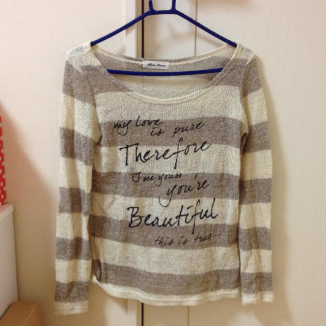 BLUE MOON BLUE(ブルームーンブルー)の送料¥0♡ブルムンロンT レディースのトップス(Tシャツ(長袖/七分))の商品写真