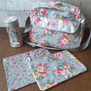 キャスキッドソン(Cath Kidston)の美品 キャスキッドソン マザーズバッグ ショルダーバッグ 鞄 (マザーズバッグ)
