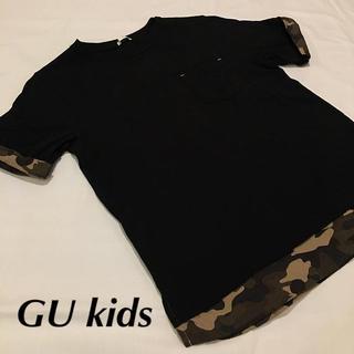 ジーユー(GU)の♡【GUジーユー】ミリタリーT 150cm♡(Tシャツ/カットソー)