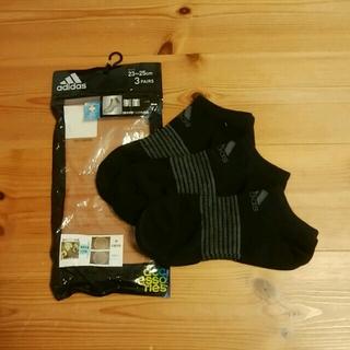アディダス(adidas)のアディダス制菌加工ソックス3P(23~25)(ソックス)