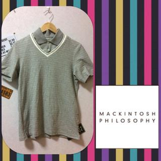 マッキントッシュフィロソフィー(MACKINTOSH PHILOSOPHY)のマッキントッシュ フェイクレイヤードシャツ(シャツ)