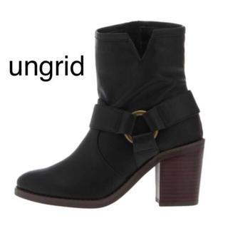 アングリッド(Ungrid)の新品★ungrid JEANASIS Dr.Martens moussy (ブーツ)