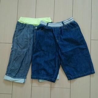 ジーユー(GU)のハーフパンツ 140 男の子 美品 (パンツ/スパッツ)