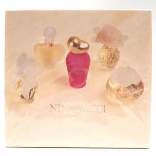 ニナリッチ(NINA RICCI)のB13 新品 未開封 ニナリッチ ミニ香水 5点 セット(香水(女性用))