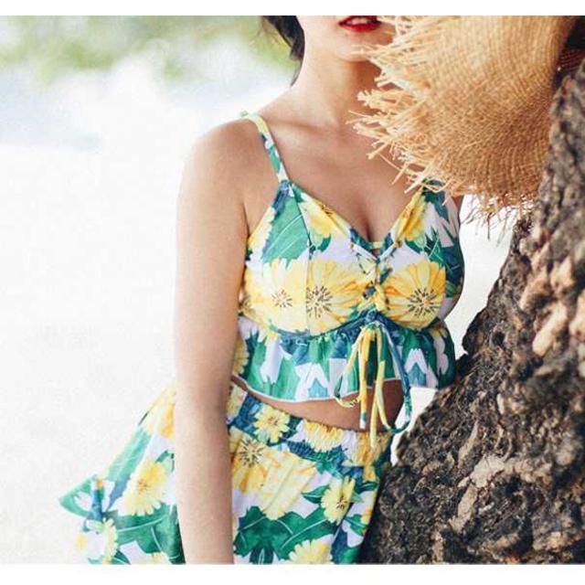 Sasa様専用 ♪ グリーン M レディースの水着/浴衣(水着)の商品写真