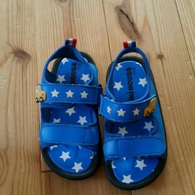 mikihouse(ミキハウス)のMami様ご専用です♡ キッズ/ベビー/マタニティのキッズ靴/シューズ (15cm~)(サンダル)の商品写真