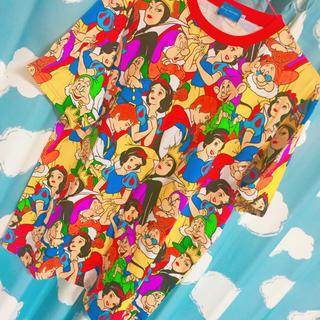 ディズニー(Disney)の白雪姫のTシャツ(橋本からあげ)(Tシャツ(半袖/袖なし))