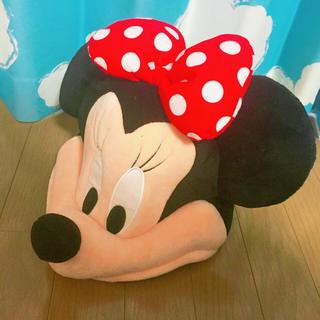 ディズニー(Disney)のミニーちゃんの被り物(橋本からあげ)(キャラクターグッズ)
