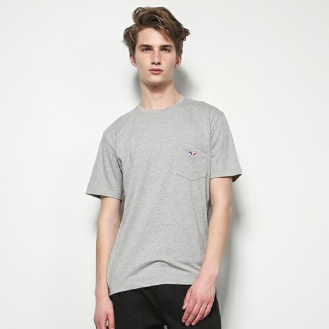 MAISON KITSUNE'(メゾンキツネ)のMAISON KITSUNE メゾンキツネ トリコロール Tシャツ メンズのトップス(Tシャツ/カットソー(半袖/袖なし))の商品写真