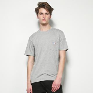 メゾンキツネ(MAISON KITSUNE')のMAISON KITSUNE メゾンキツネ トリコロール Tシャツ(Tシャツ/カットソー(半袖/袖なし))