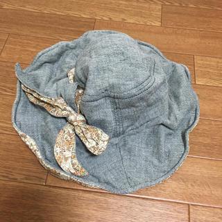 サマンサモスモス(SM2)のリバティお帽子(ハット)