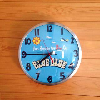 ハリウッドランチマーケット(HOLLYWOOD RANCH MARKET)のBLUE BLUE 壁かけ時計♪(その他)