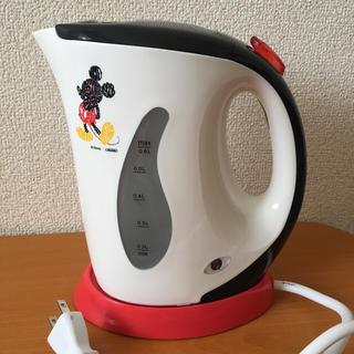 ディズニー(Disney)の新品未使用 ミッキーケトル(電気ケトル)