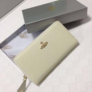 ヴィヴィアンウエストウッド(Vivienne Westwood)の長財布 Vivienne Westwood 男女兼用 ホワイト(財布)