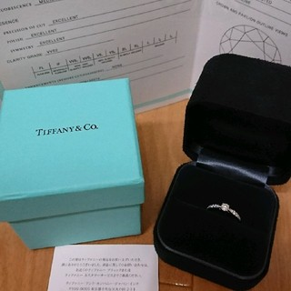 ティファニー(Tiffany & Co.)の値引き 本物 ティファニー ハーモニー リング 6.5号 ダイヤ プラチナ(リング(指輪))