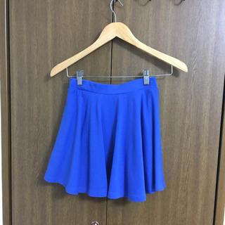 レピピアルマリオ(repipi armario)のフリルスカート ブルー(ミニスカート)