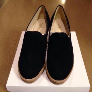 ミスティック(mystic)のmysticコルクローファーパンプス(ローファー/革靴)