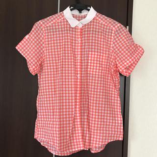 ジーユー(GU)のGU シャツ ブラウス(シャツ/ブラウス(半袖/袖なし))