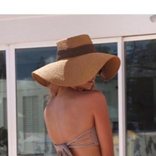 ルームサンマルロクコンテンポラリー(room306 CONTEMPORARY)のroom306 CONTEMPORARYハットBraid Ribbon Hat(麦わら帽子/ストローハット)
