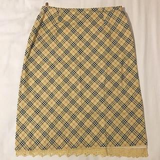 バーバリー(BURBERRY)のバーバリー スカート 38(ひざ丈スカート)