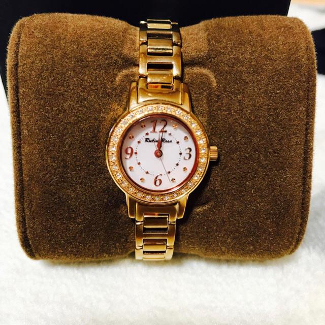 Rubin Rose 時計 ピンクゴールド レディースのファッション小物(腕時計)の商品写真