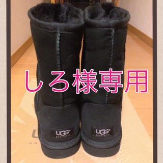 アグ(UGG)のUGGクラシックショートブラック(ブーツ)