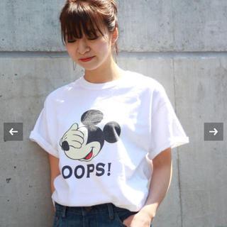フレームワーク(FRAMeWORK)のFRAMeWORK ミッキー Tシャツ(Tシャツ(半袖/袖なし))
