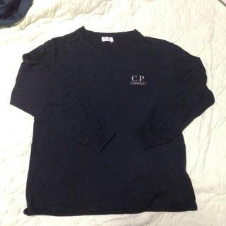 シーピーカンパニー(C.P. Company)のバックデザイン入り!ブラックロンT♡(Tシャツ/カットソー)