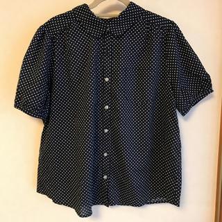 ショコラフィネローブ(chocol raffine robe)の⭐️ 水玉シャツ(シャツ/ブラウス(半袖/袖なし))