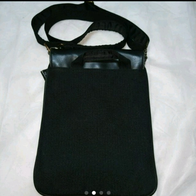 EDWIN(エドウィン)のEDWIN ブラックショルダーバッグ メンズのバッグ(ショルダーバッグ)の商品写真