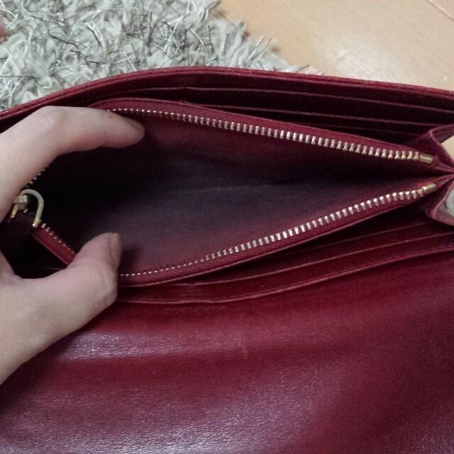 the latest d73e0 0a4fc miu miu 赤財布★