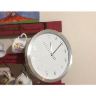 ムジルシリョウヒン(MUJI (無印良品))のシンプル 逆回転 時計 最終値下(掛時計/柱時計)