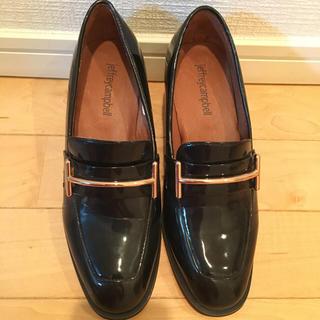 ジェフリーキャンベル(JEFFREY CAMPBELL)の新品未使用☆エナメルローファー☆馬蹄(ローファー/革靴)